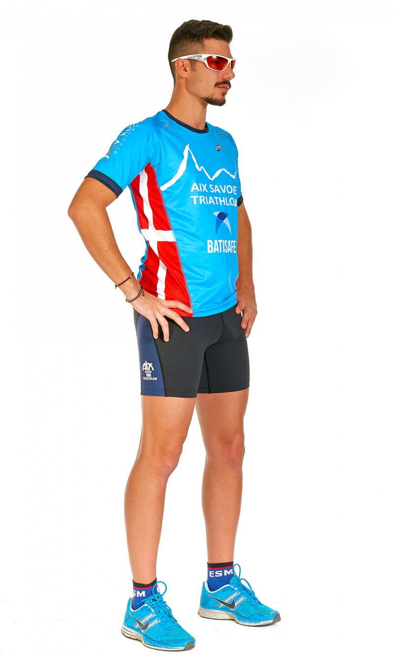 Maillot Homme MC Running col rond