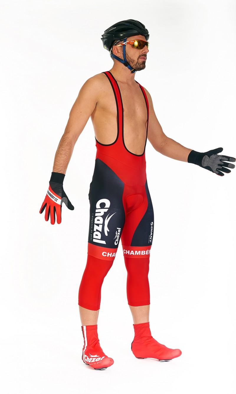 Corsaire cyclisme à bretelles homme