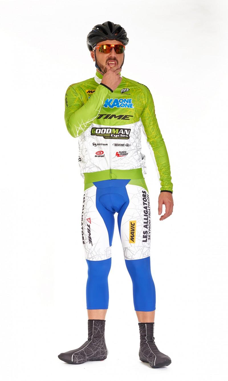 Veste Mixte imperméable Cyclisme personnalisée