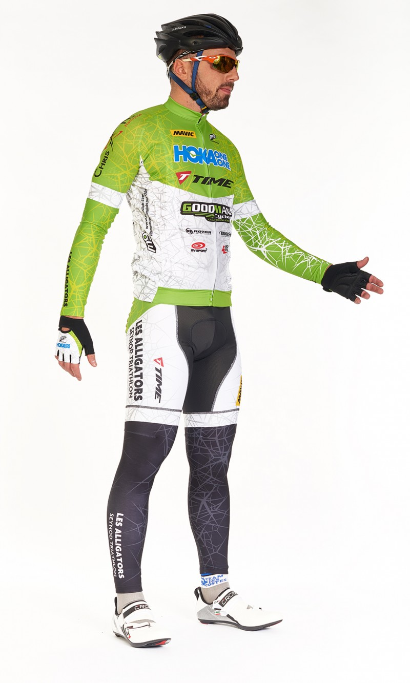 Jambières mixte personnalisé Cyclisme