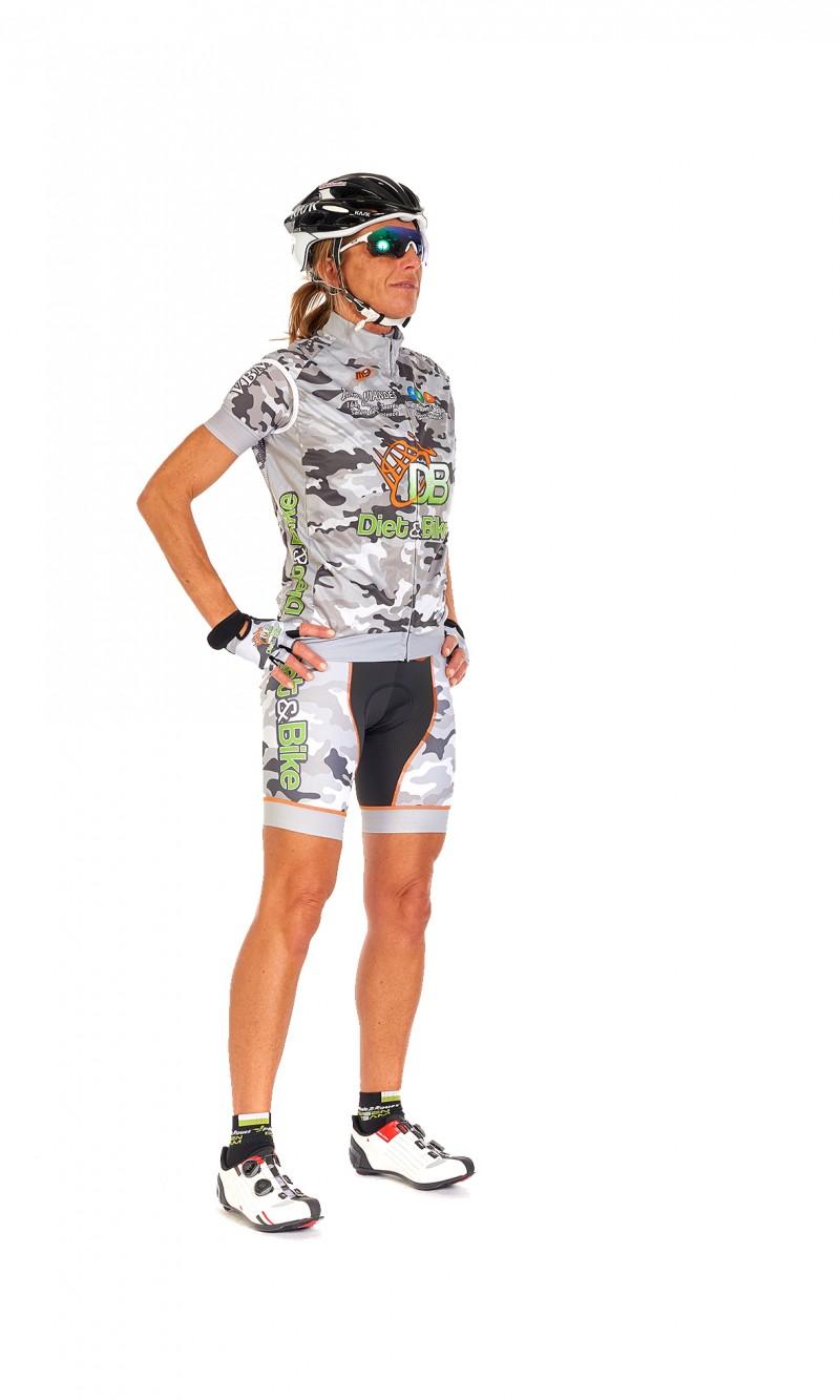 Veste coupe-vent sans manche cyclisme personnalisée club