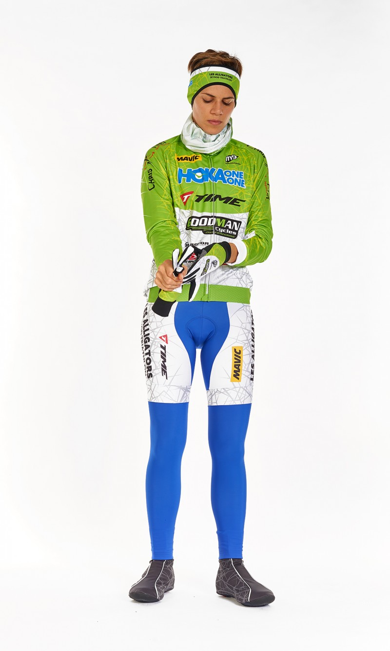Collant long Féminin Cyclisme personnalisé fond longue distance