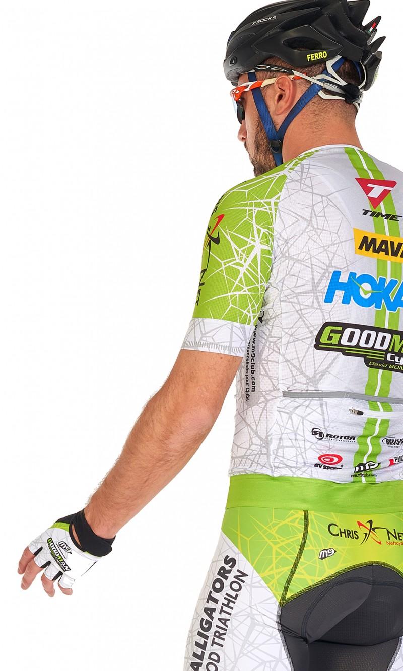 Maillot MC Homme compétition cyclisme mini col personnalisé