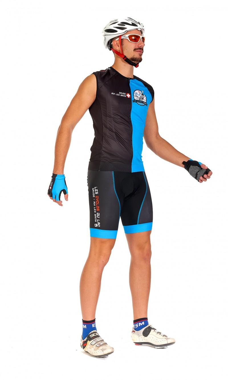 Maillot sans manche Mixte Homme cyclisme personnalisé club