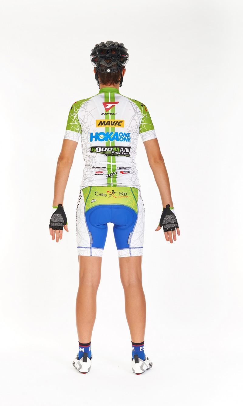 Maillot MC Femme Cyclisme personnalisé club