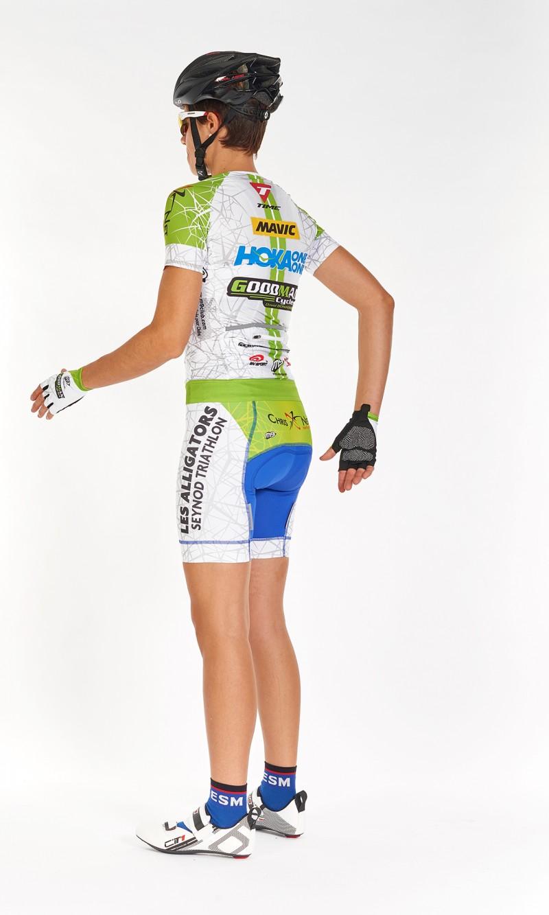 Maillot MC Femme compétition Cyclisme mini col compétition