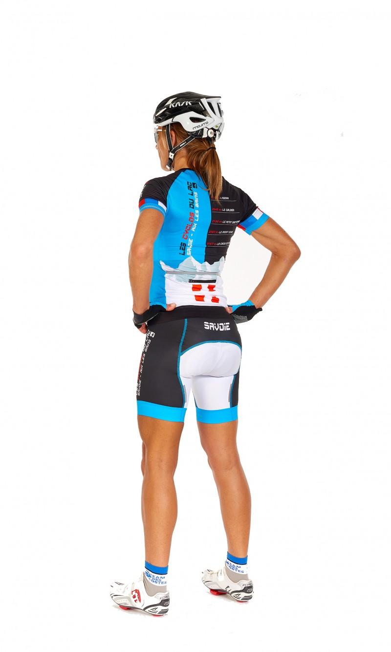 Maillot MC sans col spécifique Femme Cyclisme personnalisé club