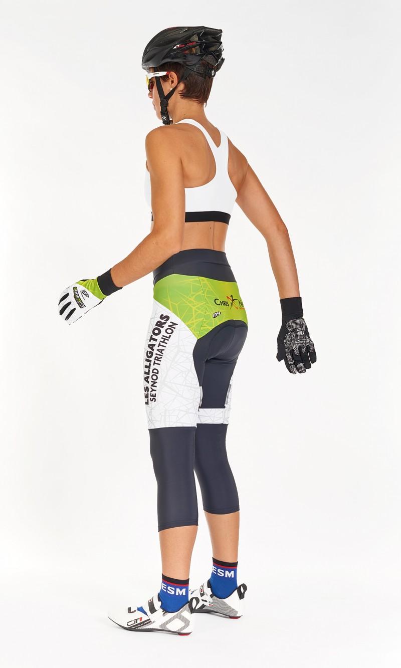 Collant Corsaire Féminin Cyclisme compétition fond long distance