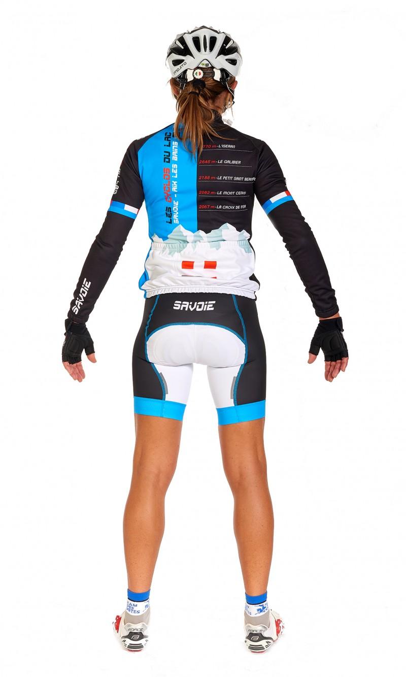Maillot ML Femme personnalisé cyclisme club sublimation