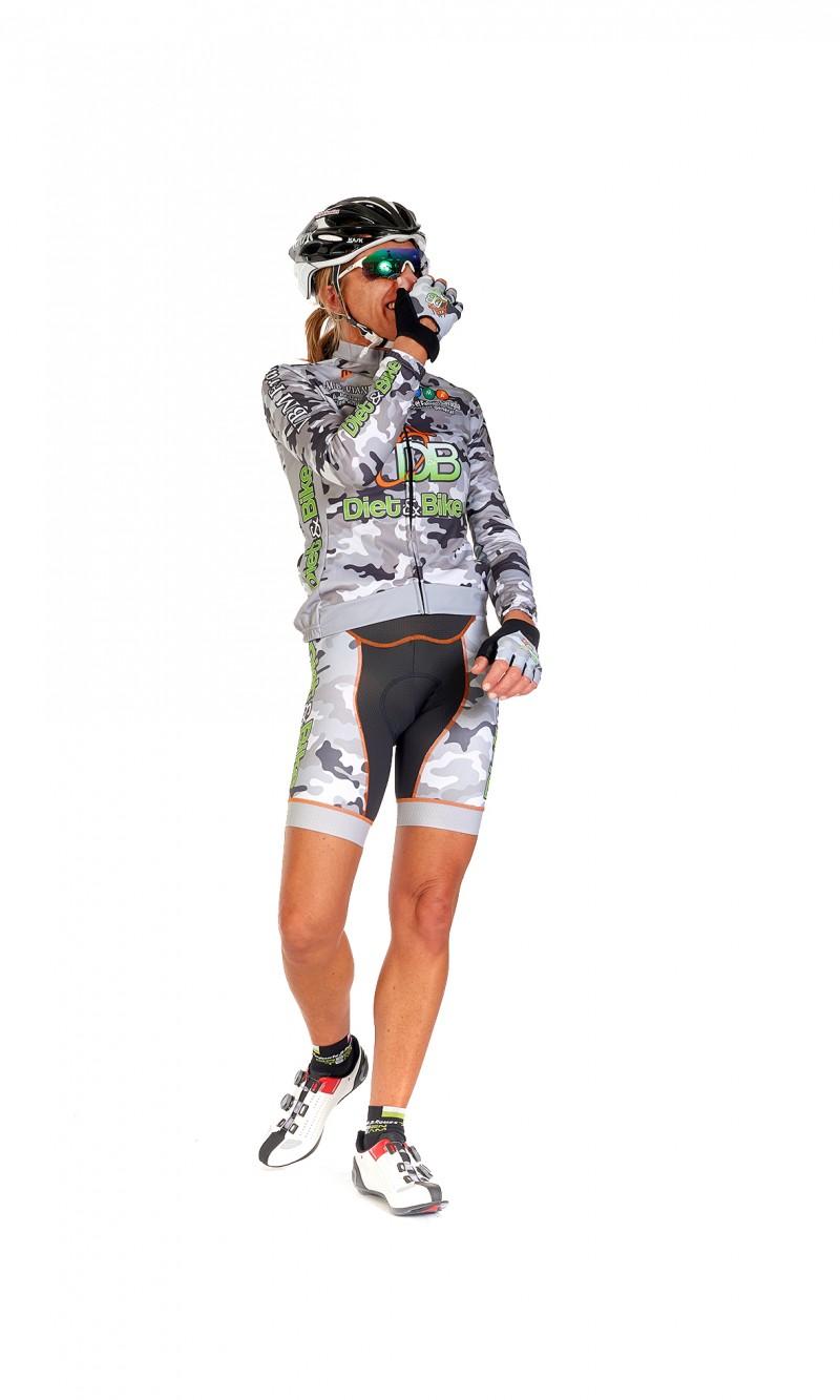 Maillot Manches Longues Femme demi-saison Cyclisme personnalisé club