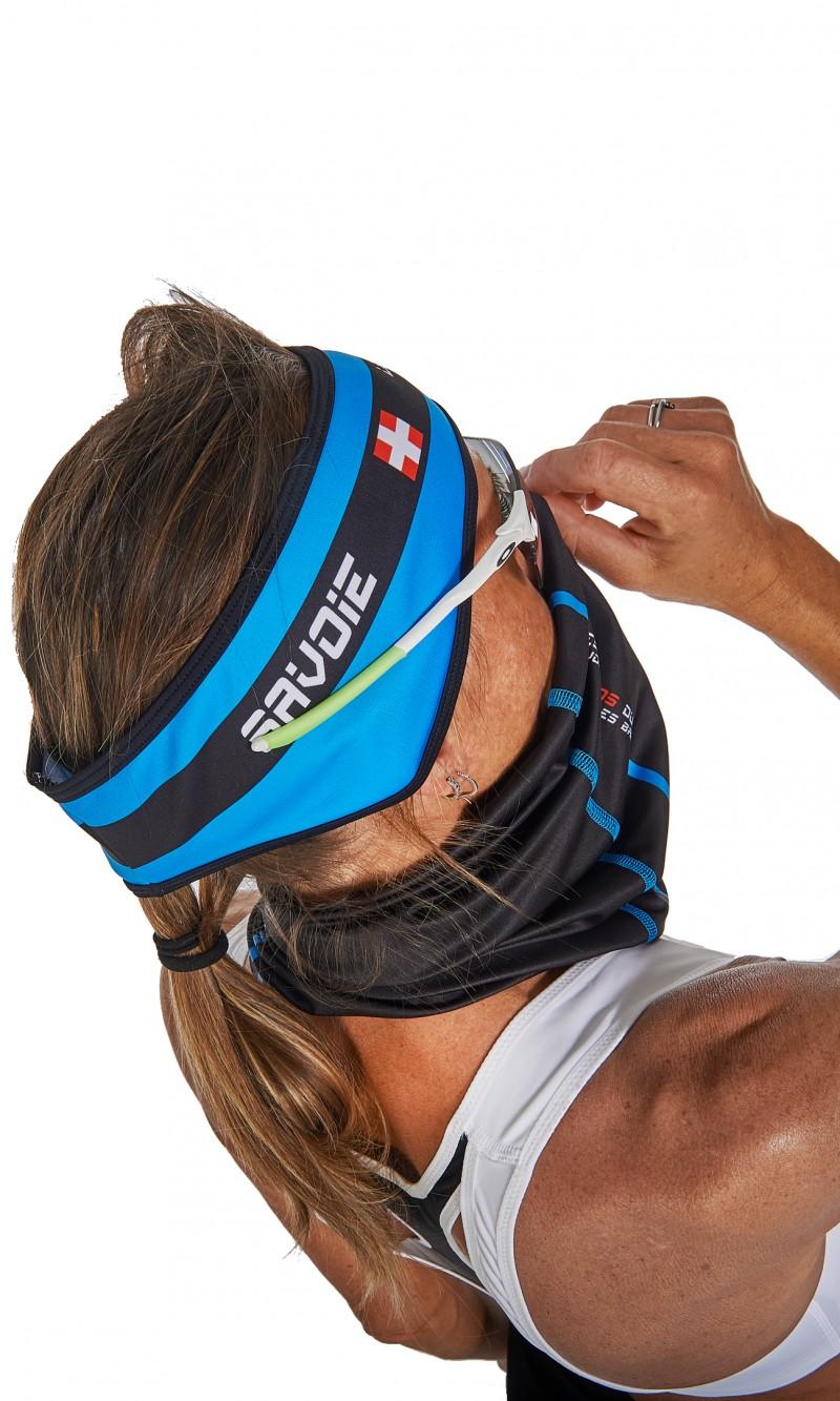 Bandeau couvre-oreilles hiver cyclisme personnalisé club