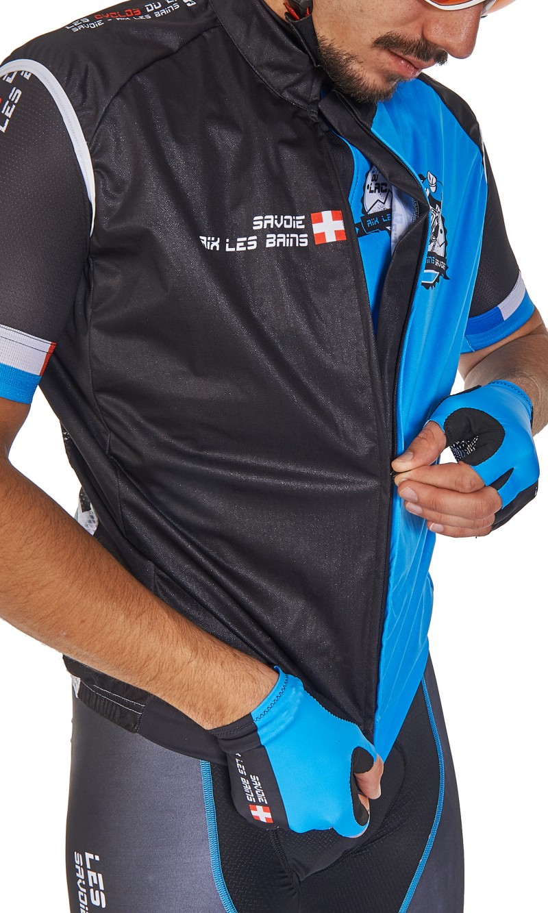 Gants été mixte aérodynamique compétition cyclisme personnalisé club