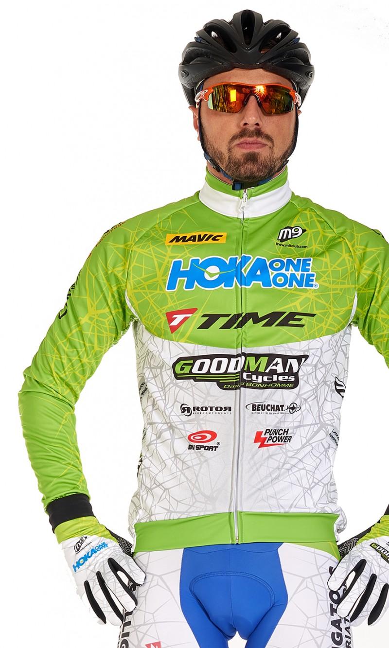 Veste mixte demi-saison cyclisme personnalisée