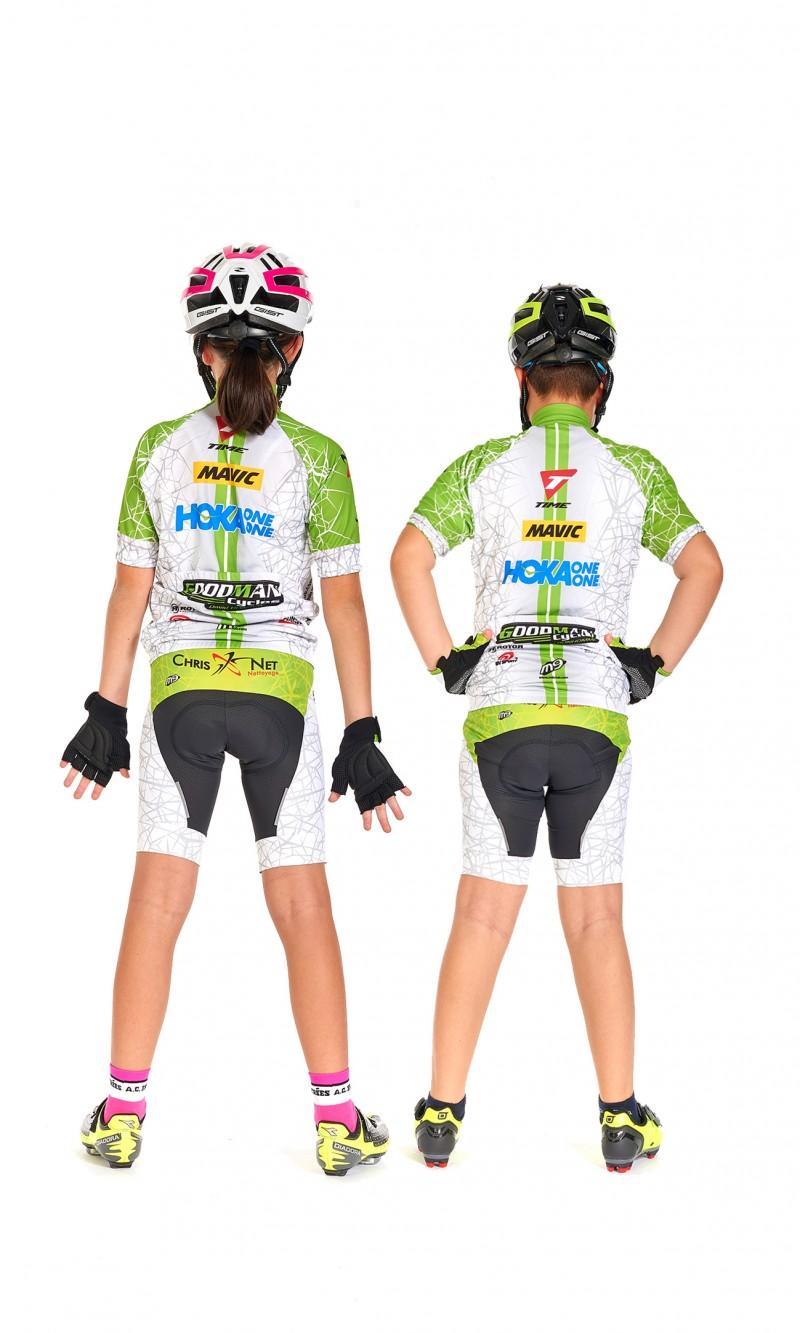 Maillot MC Mixte Enfant Cyclisme personnalisé