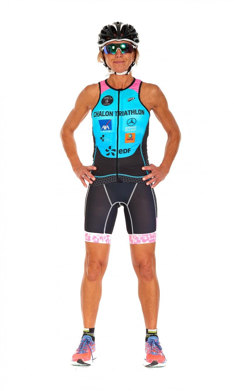 Top Triathlon Femme personnalisé sublimation club