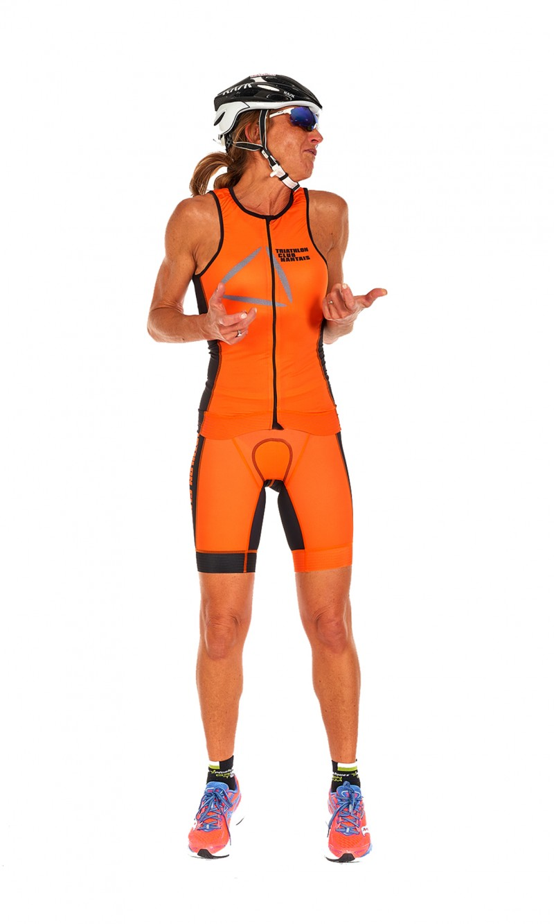 Shorty Triathlon Femme personnalisable 100% sublimation