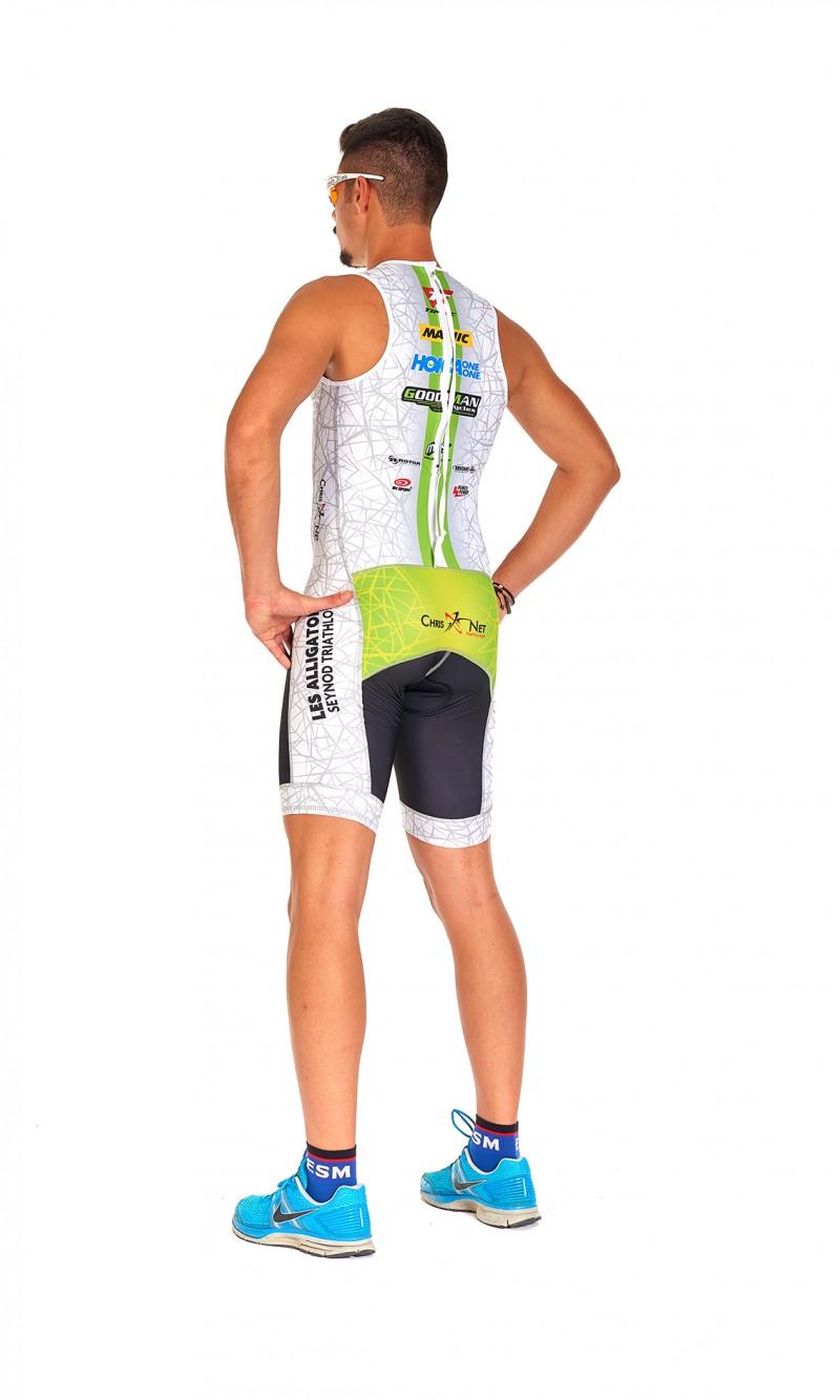 Combinaison Triathlon Homme Sprint personnalisée club