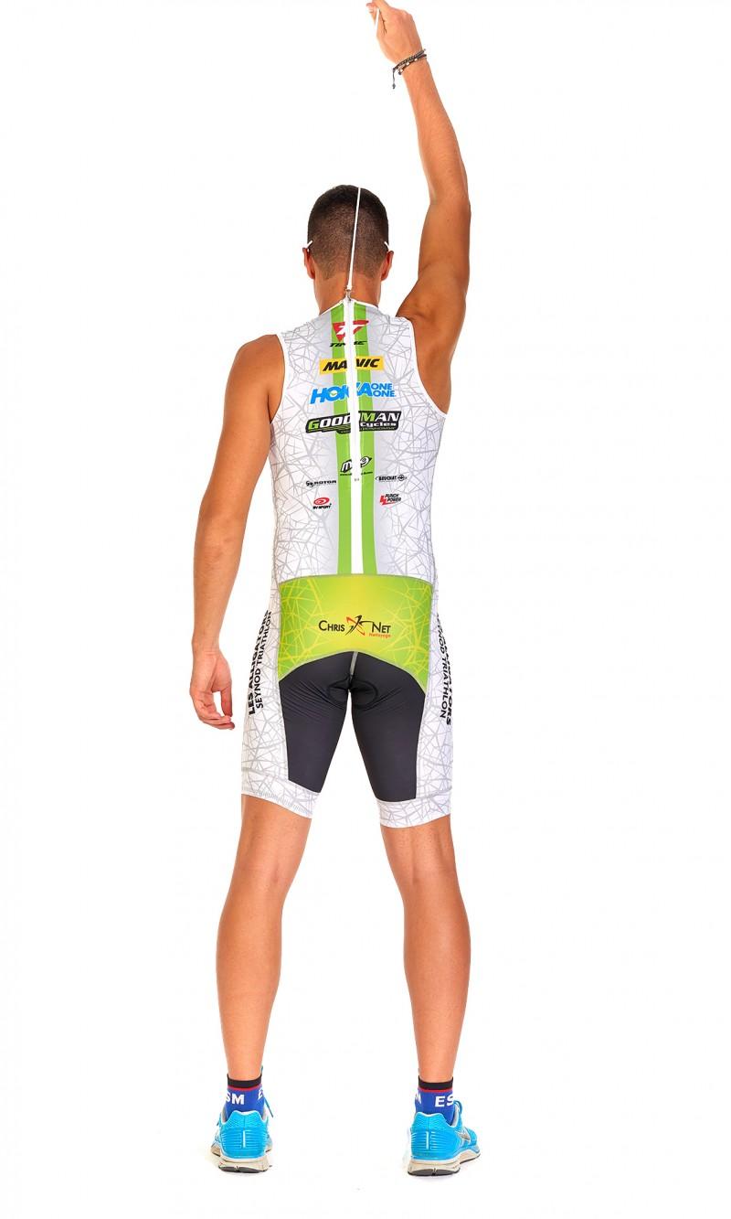 Combinaison Triathlon Homme Sprint personnalisée sublimation