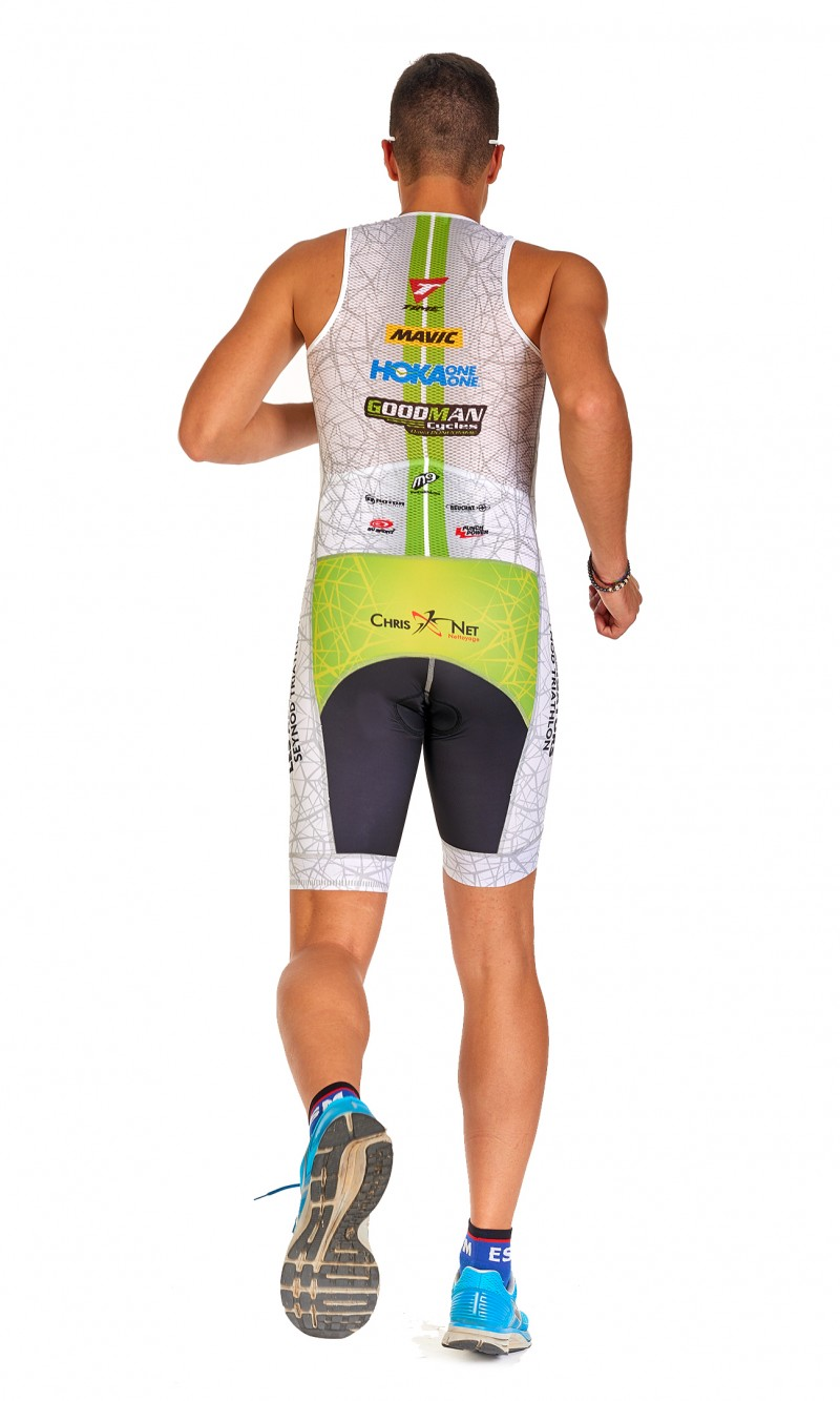 Combinaison Triathlon Homme Longue distance club