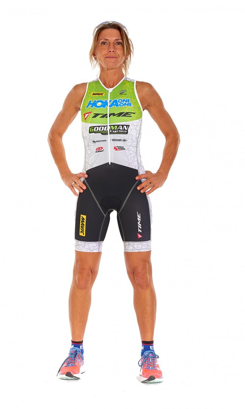 Combinaison Triathlon Femme Longue distance personnalisée sublimation club