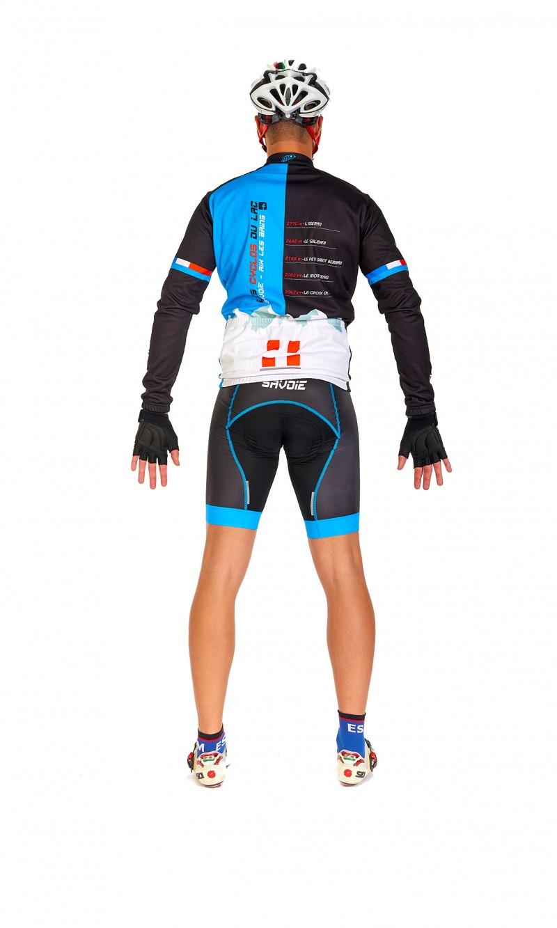 Maillot ML Mixte Homme demi-saison Cyclisme personnalisé club