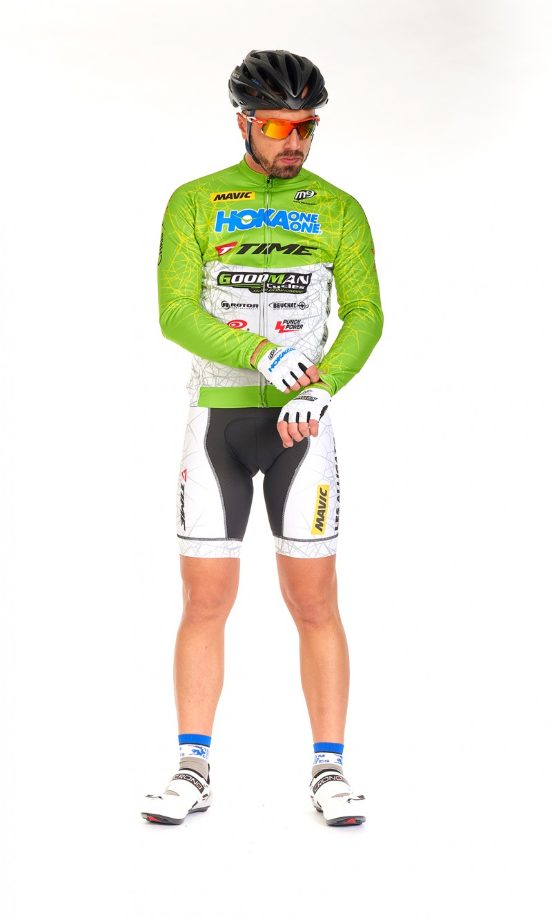 Maillot ML Homme cyclisme demi-saison
