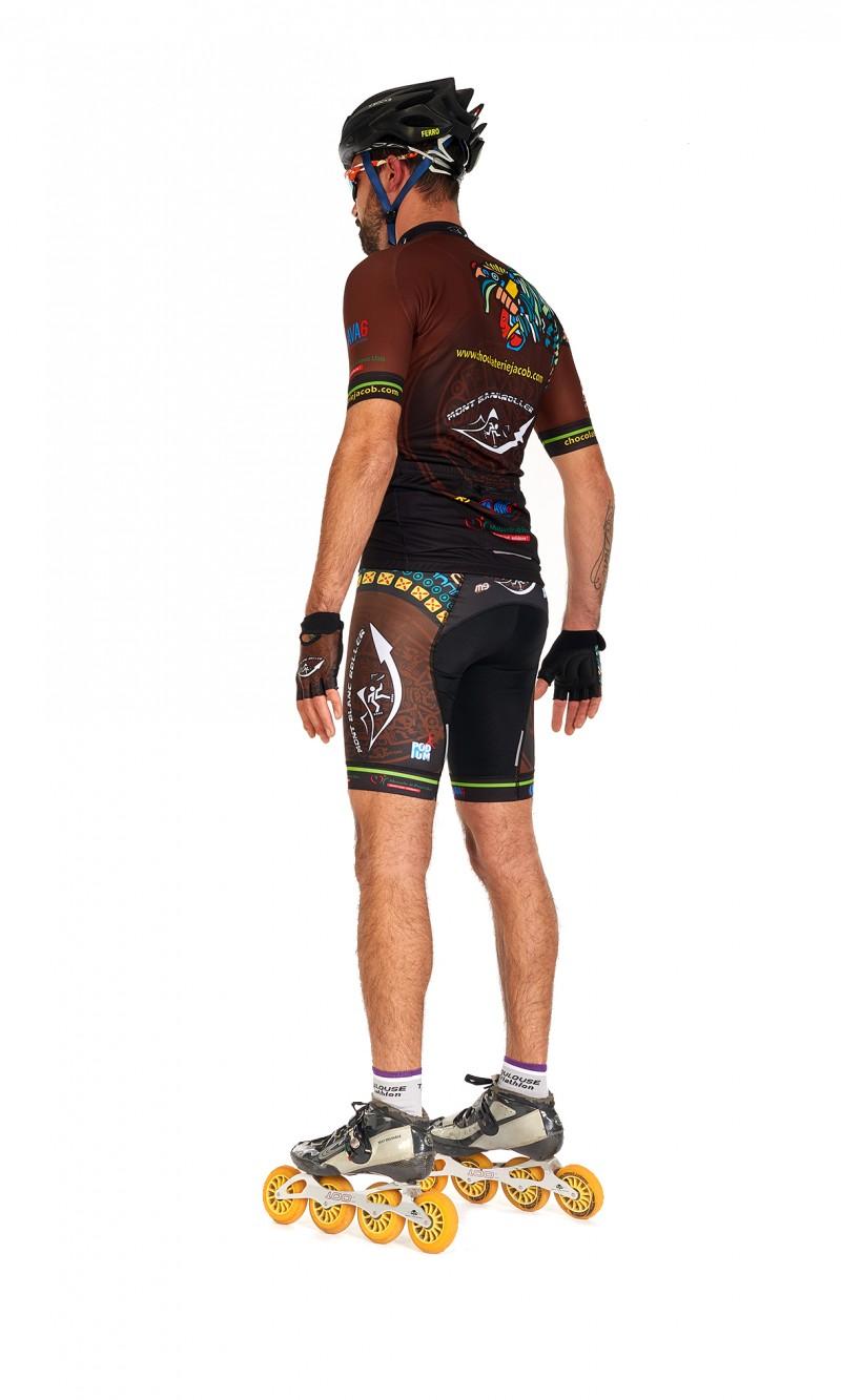maillot Manches courtes Roller personnalisé club sublimation M9
